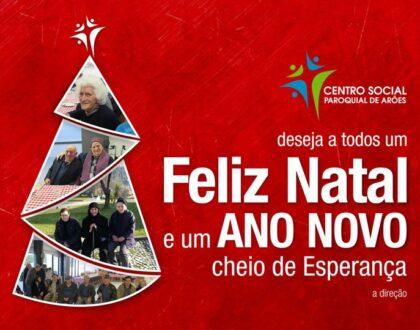 Feliz Natal e um Ano Novo cheio de Esperança
